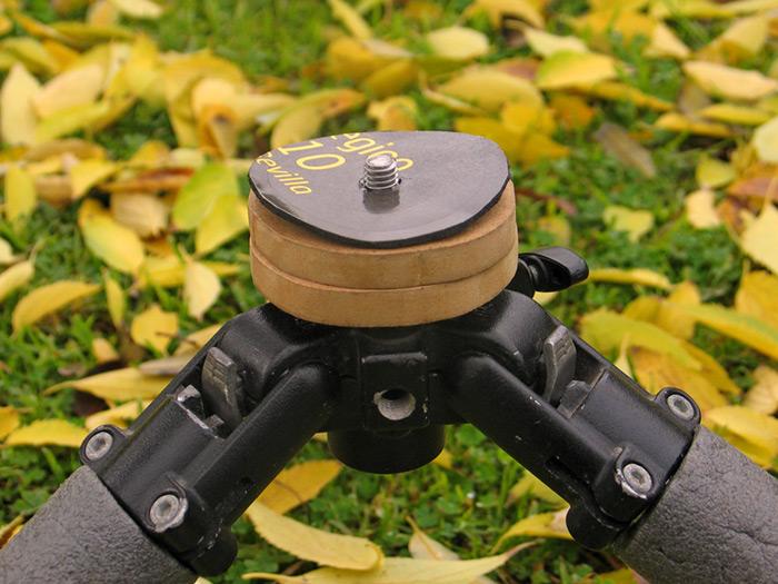 Alfombrilla de Ratón para correción de distancias y evitar rozaduras en Rótulas.