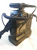 Mando Yongnuo RF603C modificado puesto ya en la cámara.